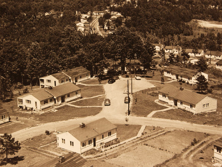 Alphabet Houses at Oak Ridge